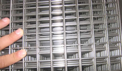 The Main Material Of Stainless Steel Welded Mesh Panels